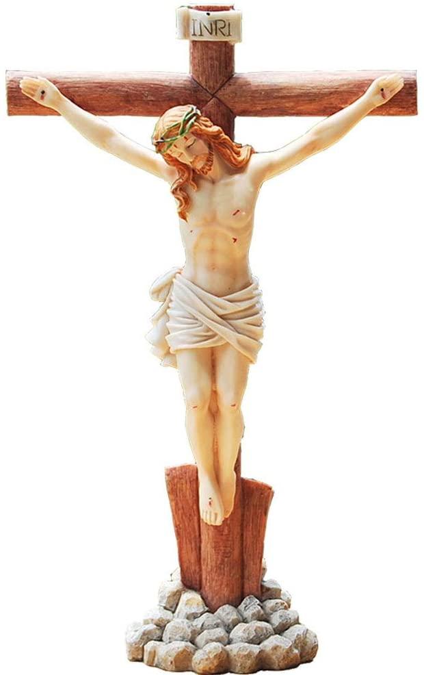 Crucifijo de piedra