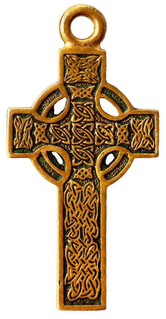 joyas collares pendientes con la cruz celta